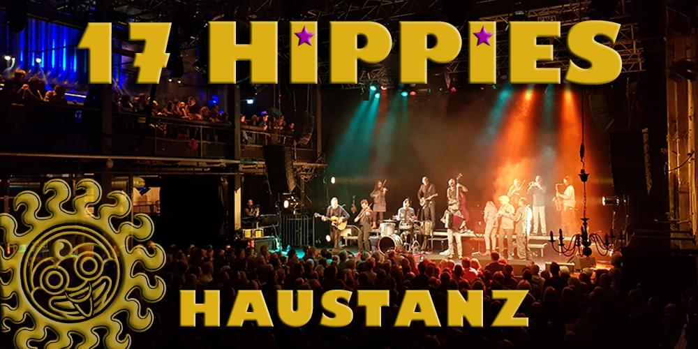 Tickets 17 HIPPIES, HIPPIE-HAUS-TANZ in Berlin